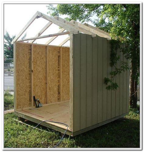how to build a storage shed foundation home design ideas