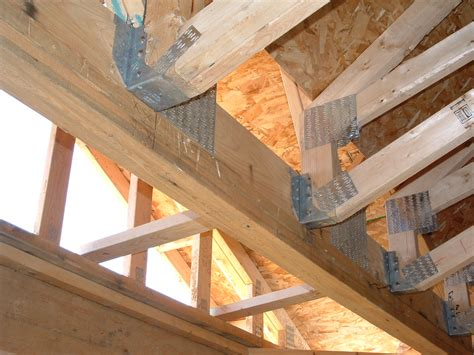 How To Build A Custom Home, Part 20 Roof Trusses  The B