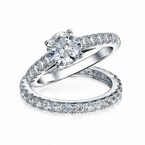 Unique engagement ring set wwwpixsharkcom images for Awesome wedding ring sets