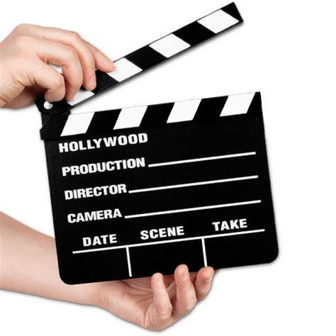 cuisine solde clap cinema pour cinéaste professionel en bois 18x20cm