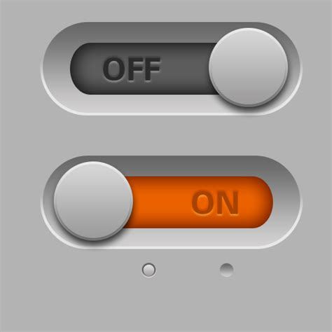 switch button psd free vector graphic download