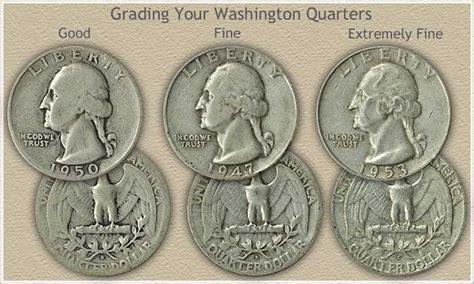 Washington Quarters Value  Rising Silver Years