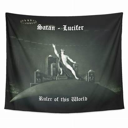 Satan Ruler Paradise Lost Lucifer Tapestry Luciferian