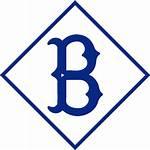 Brooklyn Dodgers Logos Nets Baseball Cool Classic