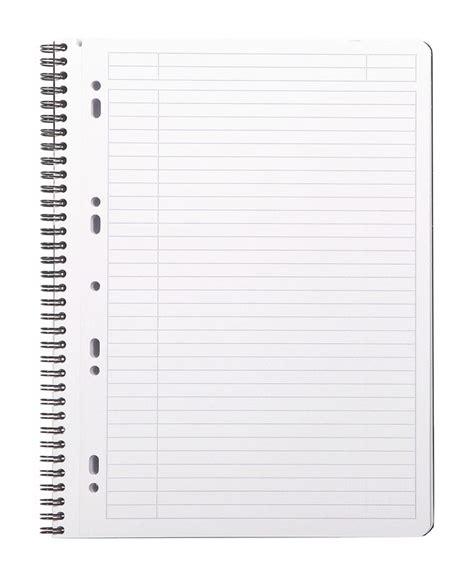classeur bureau cahier ligné grand format de la collection rhodiactive en vente à lyon papeterie gouchon