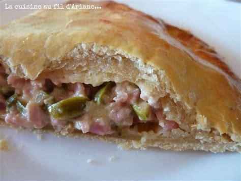 chausson jambon olive parmesan moutarde culinoversions mai 2012 la cuisine au fil d ariane
