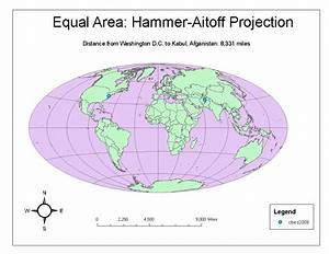 Geog 7 Intro To Gis  Lab  5  Map Projections In Arcgis