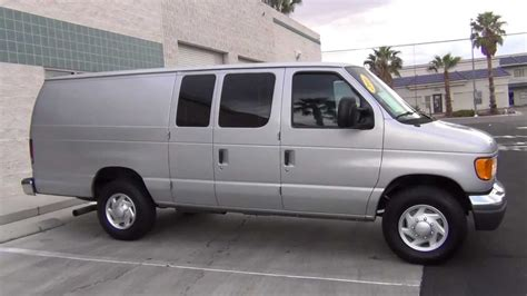 Ford E350 by 2006 Ford E350 Cargo Extended W 6 0l Turbo Diesel
