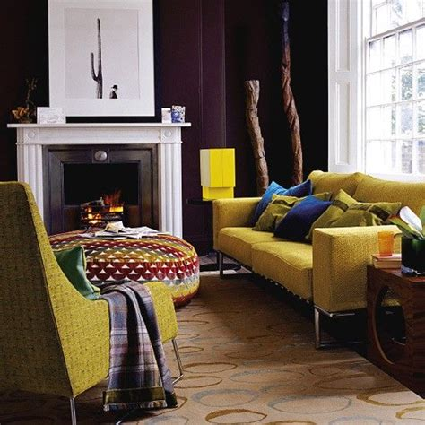 home decorating trends  mustard yellow decorated life