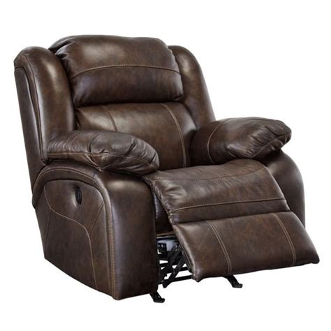 leather recliners antique branton leather power rocker recliner in antique 3700