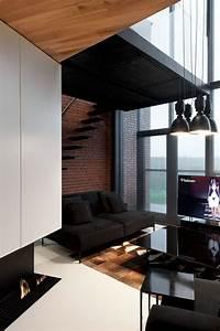 Stylish, Exposed, Brick, Wall, Lofts