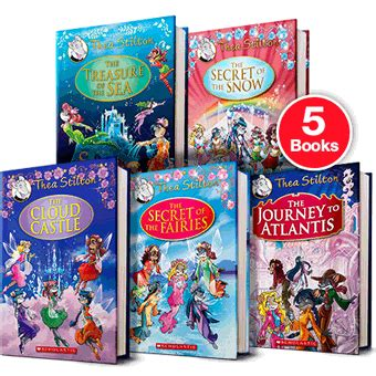 A Bundle Of 5 Book Series thea stilton special edition bundle pack of 5 by thea