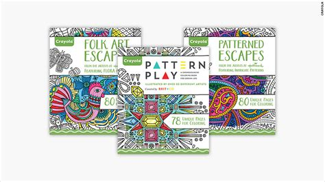 crayola adult coloring pages crayola launches its first coloring books for adults