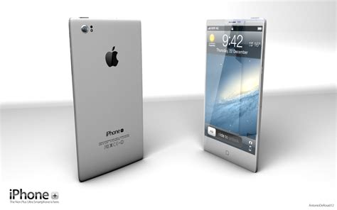 design a phone iphone plus the real evolution of the iphone concept