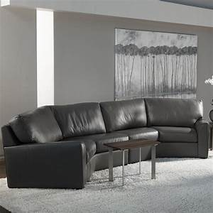 American leather kaden casual wedge sectional sofa for Sectional sofa jacksonville