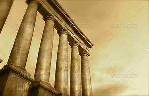 3d antique classical architecture roman monument by for Ancient greece powerpoint template