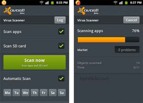 Mobile Antivirus Scanner by Avast Mobile Security Antiv 237 Rus Gratuito Para Android 201