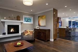 Wood molding with white living room contemporary and