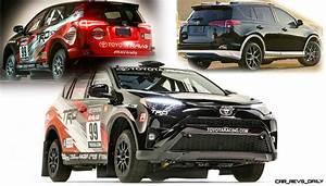 Rallye Automobile 2016 : 2016 toyota rav4 se launches silver accented style new rally racecar ~ Medecine-chirurgie-esthetiques.com Avis de Voitures