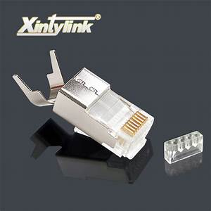 Xintylink Rj45 Connector Rj45 Plug Cat7 Cat6a Network