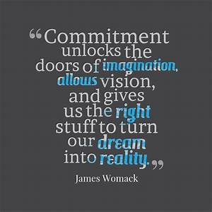 92 Best reality... Commitment Quotes