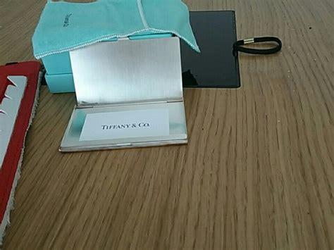 Tiffany Co Sterling Silver Business Card Holder For Sale Business Plan Sample Boutique Attire New Zealand About Computer Shop Entrepreneurship Samples Leather Jacket Bank Open Toed Shoes Resale
