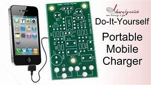 Make A Portable Mobile Charger At Home   Hindi    Urdu