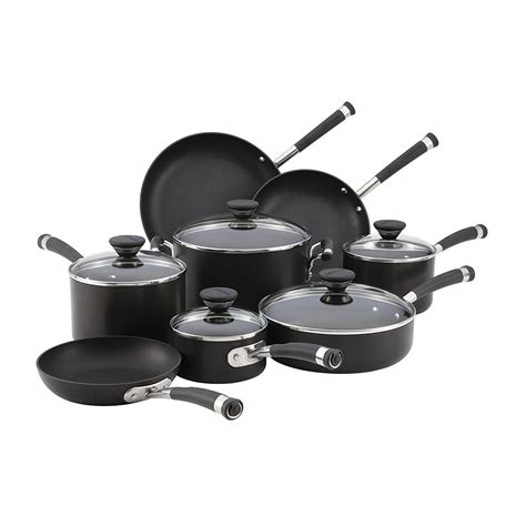 cookware anodized hard nonstick circulon glass piece stove electric rated sets kitchen acclaim safe amazon finding quality stainless check