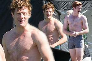 James Norton or Mr Darcy? Topless actor strips off on set ...