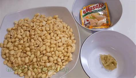 Kacang Koro Kulit 4 Kg cara membuat kacang goreng bawang renyah asahid tehyung