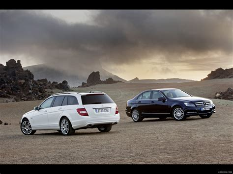Modifikasi Mercedes C Class Estate by 2012 Mercedes C Class Estate And Sedan Wallpaper