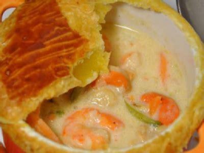 recette fricassee de la mer  la cancoillotte en cocotte