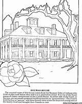 Coloring Kleurplaat Huis Sheets Adults Kleurplaten Dailycoloringpages Adult Printable Difficult sketch template
