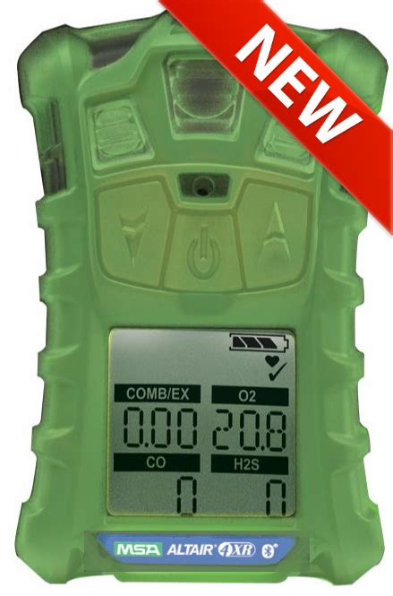 msas rugged  altair xr multigas detector