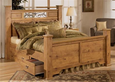 perfect rustic king size bed eegloo king queen