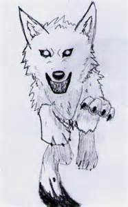 Anime Wolf Person Drawings