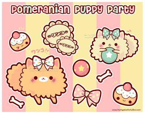 Ee  Pomeranian Ee   Puppy Party By Mooglegurl On Deviantart