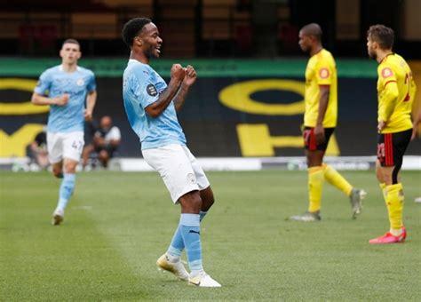 EPL PIX: Man City thrash Watford; Aston Villa stun Arsenal ...
