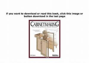 Download  P D F  Library Illustrated Cabinetmaking How To