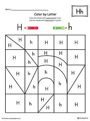 letter h worksheets picture letter match letter h worksheet 49960