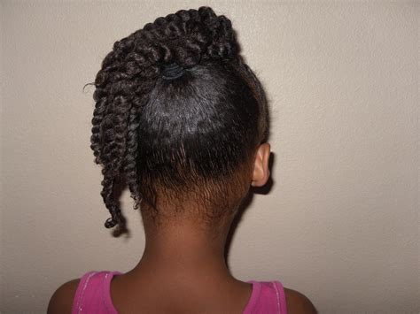 Flat Twist Ponytail Hairstyles by Locks Flat Twisted Side Ponytail Updodiva Locks