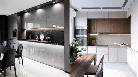 ultra modern kitchen design ideas  youtube