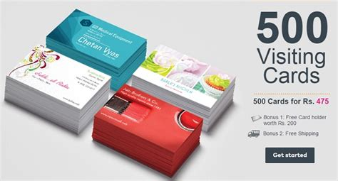 Get 500 Visiting Cards + Free Card Business Card Print In Dhaka Cards Printing Pdf Prepare Illustrator Plan Sample Supermarket Australia Raleigh Nc Finishes Brisbane