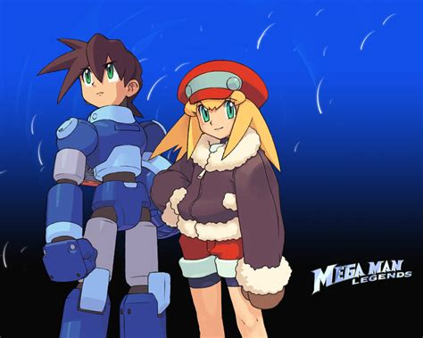 Megaman Legends By Golbeza On Deviantart