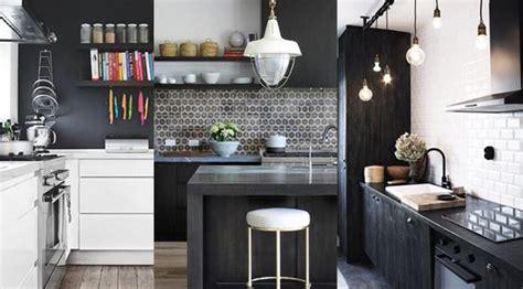 cuisine noir blanc cuisine noir et blanc 20 id 233 es d 233 coration cuisine noir