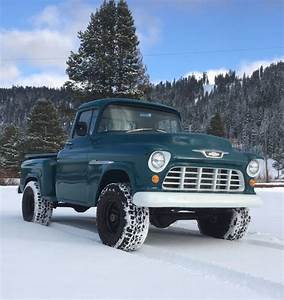 1955 Chevrolet 3100 Napco 4x4 For Sale