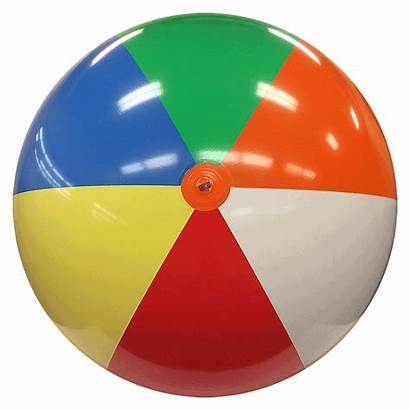 Beach Ball Balls Deflated Multicolor Ft Beachballs