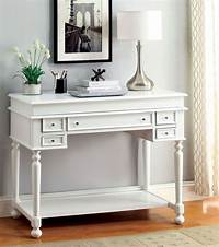 white secretary desk Lexden White Secretary Desk from Furniture of America (CM ...