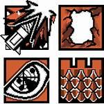 Pixel Rainbow Six Siege Minecraft Tom Icons
