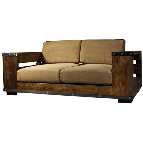les canap駸 en bois les canapés en bois canap s en bois flott entre mer et marais cr ations en bois